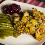 Pinterest Test Kitchen: Bacon & Leek Stuffing