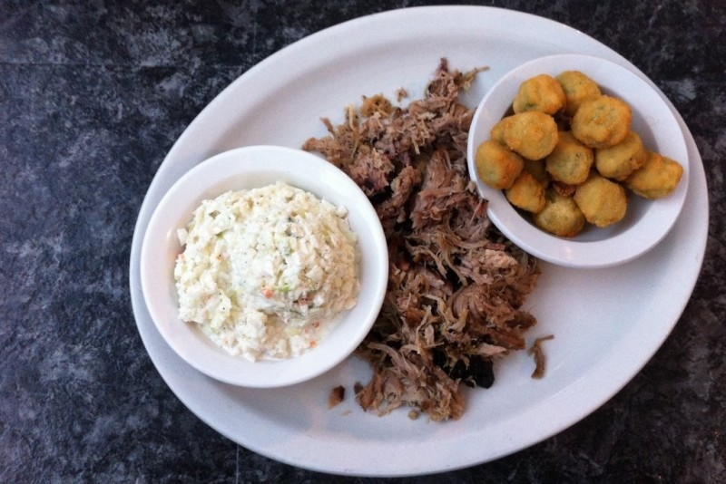 Choo Choo Bar-B-Que is a popular barbecue joint located on Hixson Pike in Hixson, Tennessee...less than five minutes from Publix.   Restaurant Review from Chattavore.com