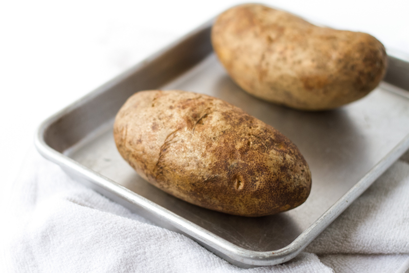 These easy twice baked potatoes are a perfect, classic side for any meat that you serve, but they're also great as the centerpiece with a salad and bread!   recipe from Chattavore.com