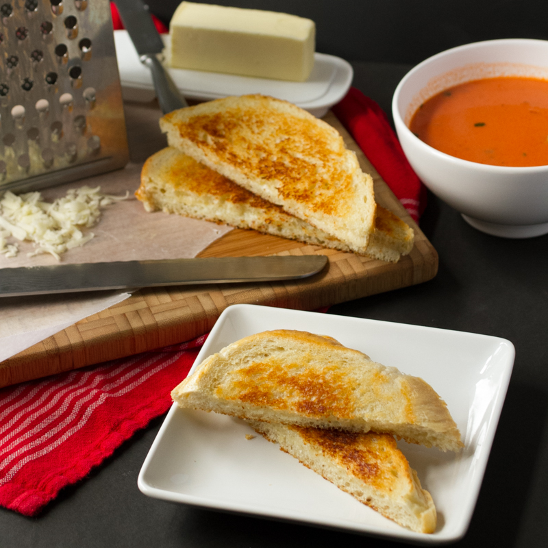 Croque Madames and a Basic Grilled Cheese