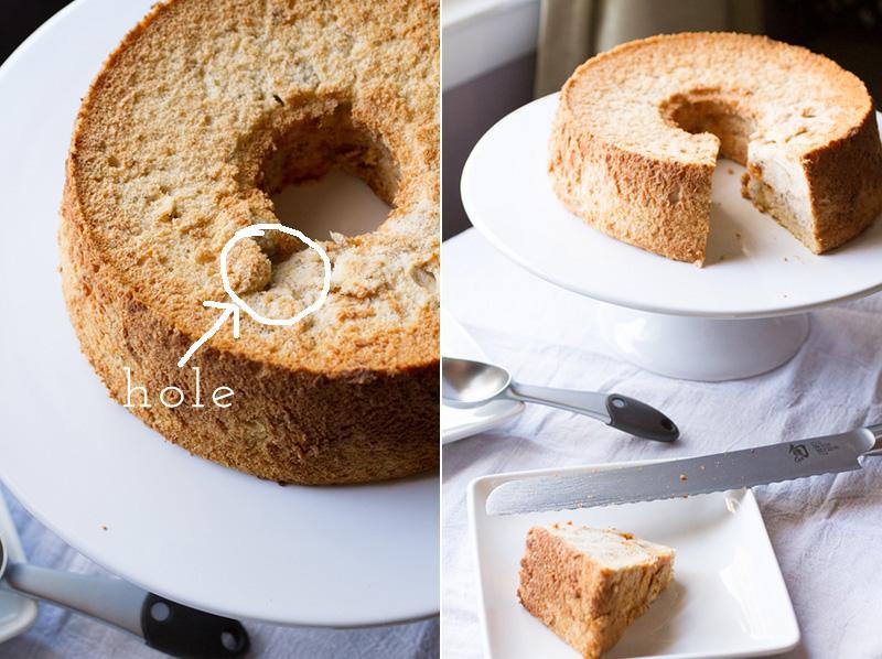 Angel Food Cake Stuck In Pan