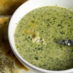 spinach-cheese soup // chattavore