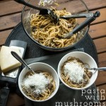 pasta with mushrooms | chattavore
