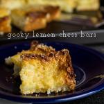 Gooey Lemon Chess Bars