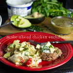 White Chicken Enchiladas (Make-Ahead)