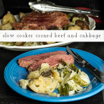 Slow Cooker corned beef and cabbage is a great way to celebrate St. Patrick's Day...but it's just as good any day of the year! | recipe from Chattavore.com