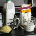cornmeal pancakes // chattavore