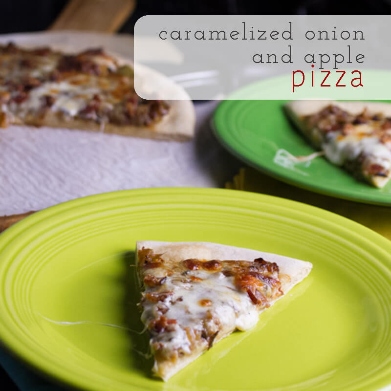 Caramelized Onion and Apple Pizza - Chattavore