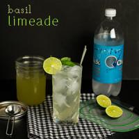 Basil Limeade (Homemade!)