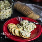 This chickpea salad is a simple and delicious alternative to tuna or chicken salad. You won't miss the meat! | chattavore.com