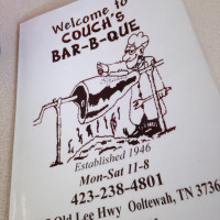 Couch's BBQ – Ooltewah, Tennessee