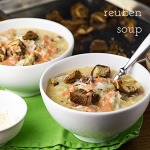 Reuben soup has all the ingredients of a Reuben sandwich in a bowl! | recipe from Chattavore.com