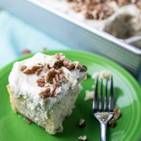 Hummingbird Sheet Cake + Video
