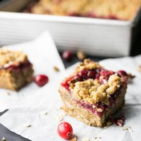 Mix-in-the-Pan Cranberry Bars
