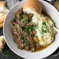 Pressure Cooker French Dip Bowls