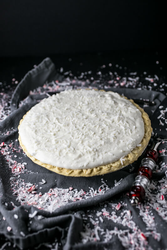 My grandmother's white Christmas pie is simplicity in a pie dish, and that may be what makes it so beautiful and delicious! | recipe from Chattavore.com