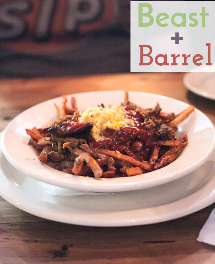 Beast + Barrel is a gastro smokehouse and bar located on Chattanooga's North Shore serving creative drinks and a simple, elevated menu in a cozy atmosphere. | Restaurant Review from Chattavore.com