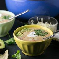 Creamy Chicken and Potato Tortilla Soup
