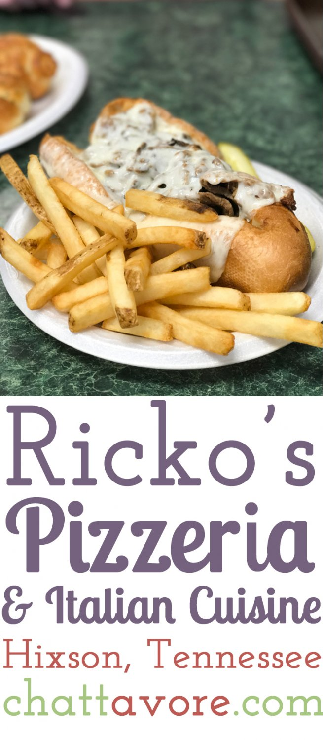 Italian Food Restaurant Names: Ricko's Pizzeria And Italian Cuisine (Lakesite, TN