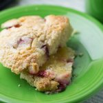 Easy Scones with Plums and Greek Yogurt + Video